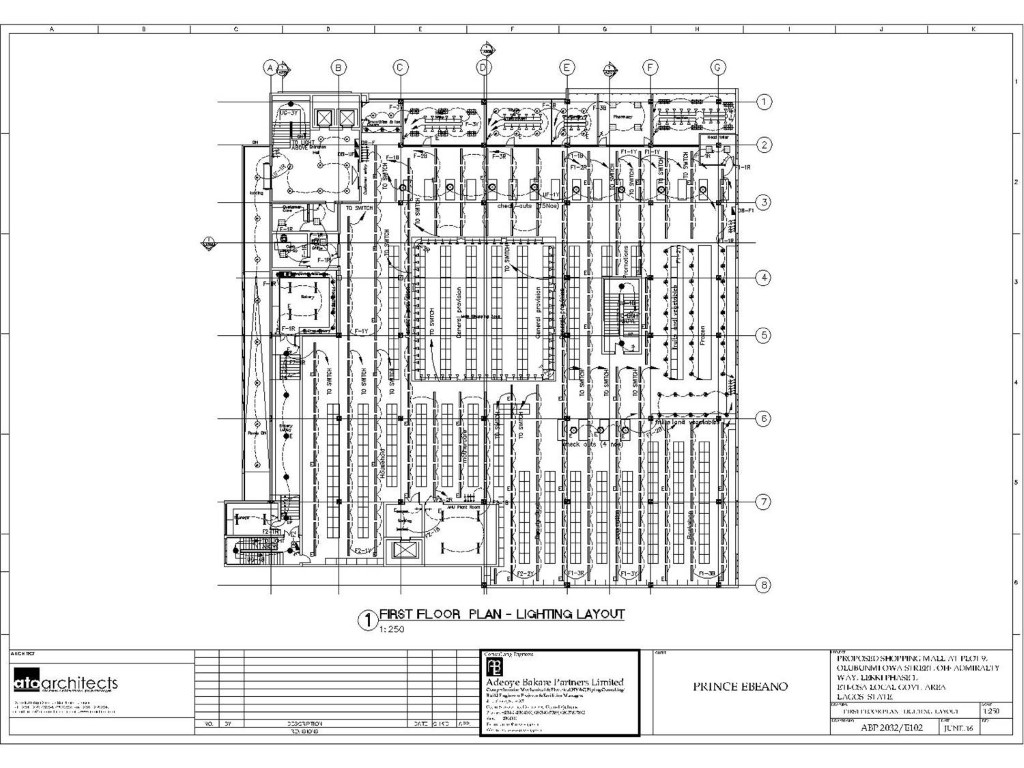 Electrical Drawings – Adeoye Bakare Partners Limited